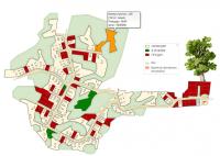 Карта поселка.