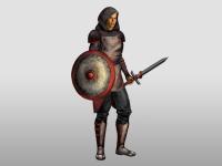 Комплект обмундирования для игрового персонажа
