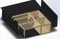 Проектирование многофункционального ящика в багажник автомобиля