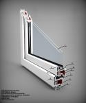 Окно в разрезе