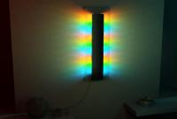Визуализация светильника ночью