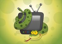 """Иллюстрация для календаря 2013, """"Ваше ТВ"""""""