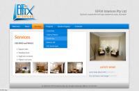 Effix Interiors (переезд на CMS + редизайн)