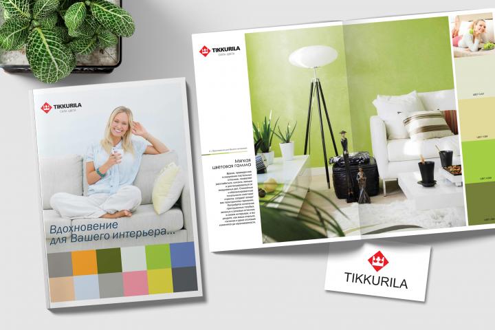 Журнал-каталог для Tikkurila