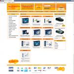 Интернет магазин под ключ allesauto.ru