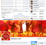 Продвижение официальной группы BrookeBond в Facebook