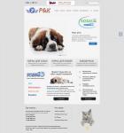 Сайт продажи кормов для животных
