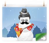 Игровой модуль-конструктор для конкурса новогодней открытки [201