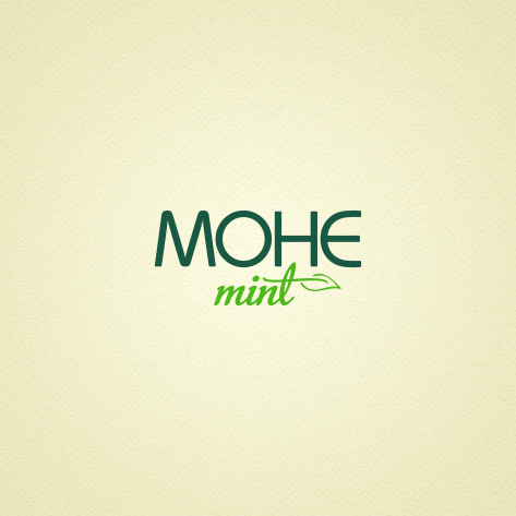 Логотип для   сети салонов красоты МОНЕ mint