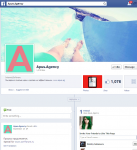 Facebook лайки и подписчики для компании Apus