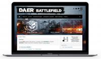 Сайт команды игроков «DAER»