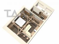многофункциональное пространство квартиры