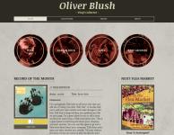 Сайт для артиста или художника
