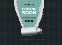 Сайт-заглушка для проведения изменений на основном сайте