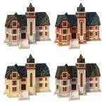 Моделирование домиков для сайта компании TEGOLA