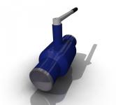 Разработка модели запорной арматуры с последующим рендерингом
