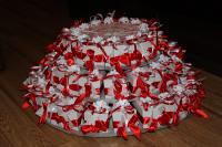 Торт из бонбоньерок