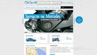 Сайт автомагазина
