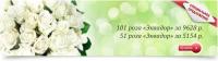 Баннер для интернет магазина Luxury Flowers