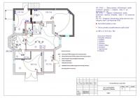 Проект внутреннего электроснабжения жилого дома