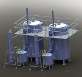 Установка для переработки и утилизации углеродсодержащих отходов