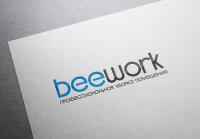 Логотип клининговой компании Beework