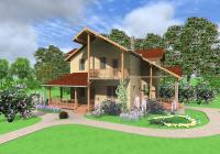 Проект двухэтажного дома 115 м2