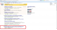 Вывод сайта в ТОП-4 Яндекса