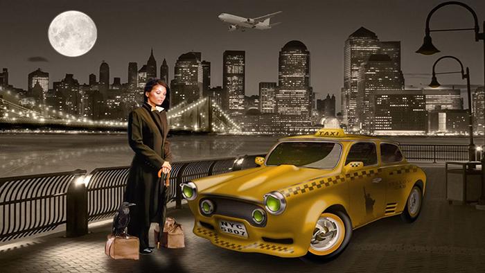 "Текст для листовки ""Такси в аэропорт"""