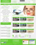 Макет для сайта продажи оптики