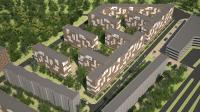 3D визуализация микрорайона