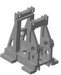3D-модель клети прокатного стана