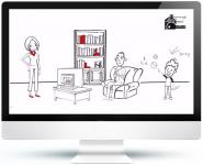 """Рисованная видео-презентация компании """"Правильный ремонт"""" (doodl"""