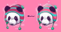 Перерисовка панды