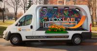 Брендирование авто BOXLAB конкурсная работа