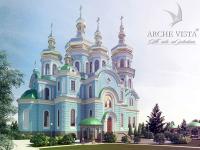 Храм на 400 прихожан в Луганске