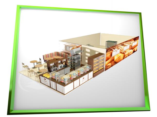 Кафе Пекарня 3Д (ТЦ ЛЕТО)