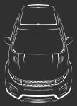 Отрисовка Range Rover Evoque