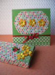 Набор: открытка и коробочка