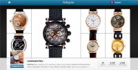 Instagram. Продвижение интернет-магазина коллекционных часов