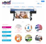 E-commerce for printing agency in Australia, Brisbane.