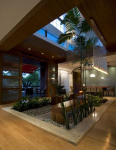 Многоэтажный жилой дом, проект с атриумом