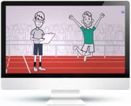 Рисованная видео презентация сервиса Biggon (Doodle Video)