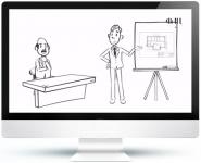 Видео презентация для компании Федеральный лицензионный центр