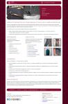 Дизайн сайта швейного цеха