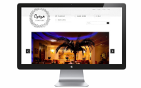 Сайт для кафе