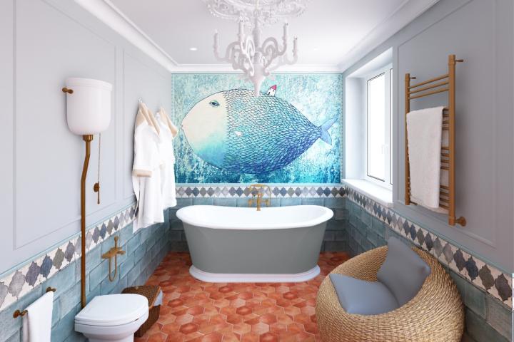 Ванная комната в Новой Москве