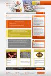 Легдинг Стены и фасады: Текст и дизайн посадочной страницы.