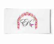 Логотип дизайнера-флориста