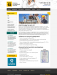 Сайт визитка инженерно-конструкторского центра ППР